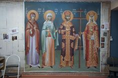 1 post published by iconsalevizakis during January 2018 Orthodox Icons, January 2018, Saints, Projects To Try, Fresco