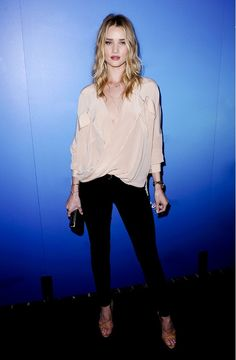 @Who What Wear - Rosie Huntington-Whiteley's Guide To Girls' Night Out Dressing