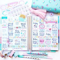 Erin Condren Gold Planner Vertical Layout