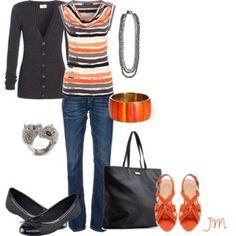 Love the colour Orange