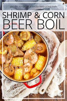 Shrimp Beer Boil - Jennifer Meyering