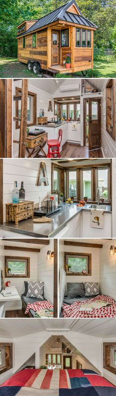 The Cedar Mountin tiny home