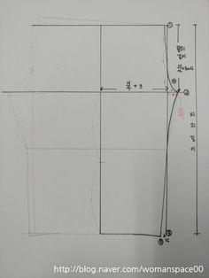 파자마 패턴 그리기 : 네이버 블로그 Line Chart, Sewing, Pants, Trouser Pants, Dressmaking, Couture, Stitching, Women's Pants, Women Pants