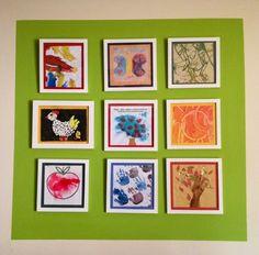 Displaying kid's art Kids Art Storage, Boy Toddler Bedroom, Art For Kids, Gallery Wall, Diy Crafts, Frame, Home Decor, Deco, Art For Toddlers