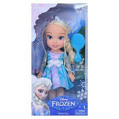 """Disney Frozen Elsa 13"""" Toddler Doll"""
