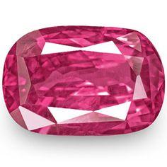 3.19-Carat Unheated Rich Pink Sapphire from Madagascar (IGI)