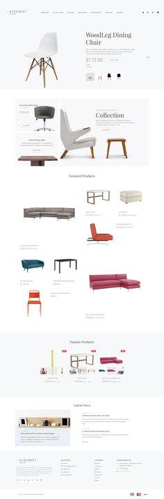 Furniture Responsive PrestaShop Theme #62338