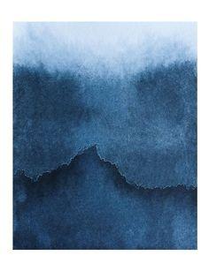 Maree-haute1-9 Encres et pigments sur papier. Marie Boiseaubert