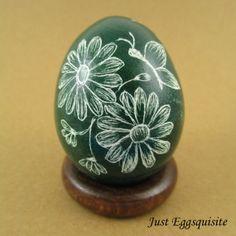 Pysanky Pisanki Ukrainian Polish Easter Egg by JustEggsquisite, $18.00