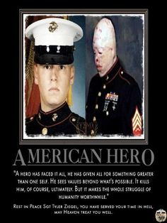 American hero, freedom isn't free. Thank you for your sacrifice, God bless you and your family.