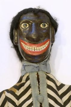 Antique Punch and Judy puppet