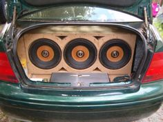 """While looking for shots of old school Strokers we stumbled upon these classics labeled as """"Rediculously Loud"""" by the owner himself. 3 1st generation Cerwin Vega Stroker 12d2's fitted on a 6.7 ft^3 ported enclosure tuned to 28Hz. Powered by a 3000.1 amplifier. #tagtheowner Car:2001 Volkswagen Jetta #cerwinvegamobile #cvm #veganation #oldskool #stroker #strokerlife #strokerpower #caraudio #carstereo #classiccaraudio #oldschool #cargram #subwoofer #loud #theloudspeakercompany"""