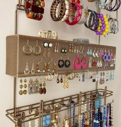 Top 15 DIY Jewelry Storage Ideas Jewellery organization