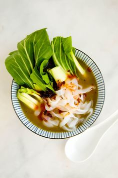 bok choy shirataki noodle soup (vegan, whole30) | the capsule kitchen
