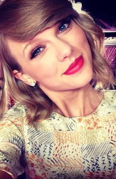 You may not like her music but you have to admit she is really pretty(: