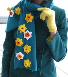 Daffodil scarf | Flickr - Photo Sharing!