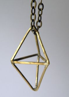 Prism Necklace by HeroKing on Etsy