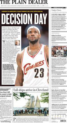 Plain Dealer pages reveal LeBron's amazing career (slideshow) | cleveland.com