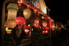 """Be entranced by the lanterns of """"Illumination NIght"""" on Martha's Vineyard...and then do the same thing on our back patio."""