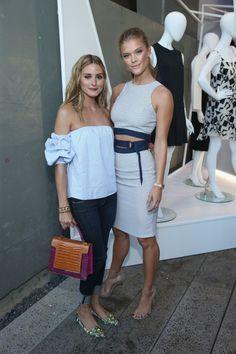 Olivia Palermo & Nina Agdal