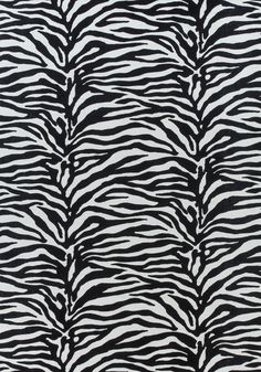 SERENGETI, Black and White, F985028, Collection Greenwood from Thibaut