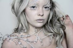 Ice Queen Makeup Tutorial ❄ Narnia's White Witch
