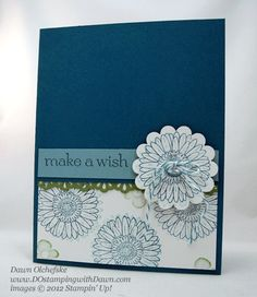 6/23/15 Weekly Deal Vintage Faceted Buttons shared by Dawn Olchefske #dostamping #stampinup