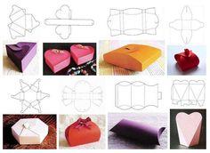 Papierowe pudełka na prezent