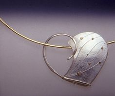 Necklace | Armonita Yuen. Sterling silver and 18k gold