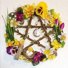 Pentacle, Grapevine Wreath, Grape Vines, Floral Wreath, Wreaths, Home Decor, Floral Crown, Decoration Home, Door Wreaths
