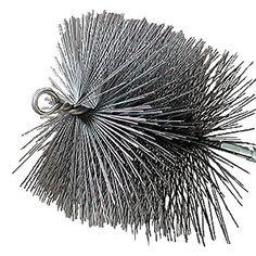 6 in. x 10 in. Rectangular Wire Chimney Brush, 1/4 in. NPT