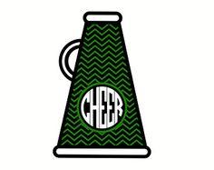 Cheer megaphone template google search cheer pinterest cheer chevron cheer megaphone svg cricut clipart thecheapjerseys Gallery