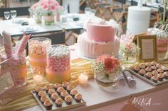 when Mina creates Baby Baptism, Sarah Kay, Table Decorations, Home Decor, Decoration Home, Room Decor, Home Interior Design, Baby Christening, Dinner Table Decorations