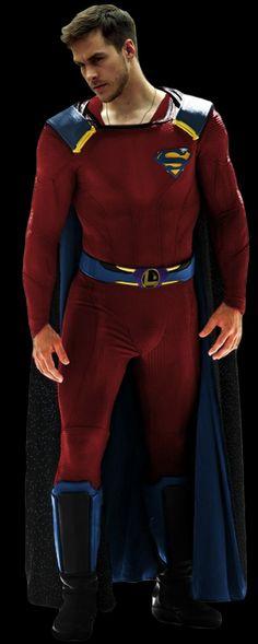 Mon-el kostüm he got his costume! - Visit to grab an amazing super hero shirt now on sale