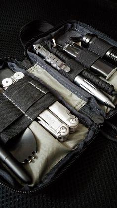 My pocket organizer. Maxpedition mini edc.
