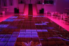 Eternity Division /Infinity. Led dance floor made in aluminium, termpered glass, with 4, 12, 27 or 48 DMX channels. #led dance floor #eternity dance floor #infinity led #inifnity pista de baile #pista de baile iluminada #pista de led #pista de baile con luces $eternity led effect #3D dance floor  http://www.leddancefloorhire.co.za