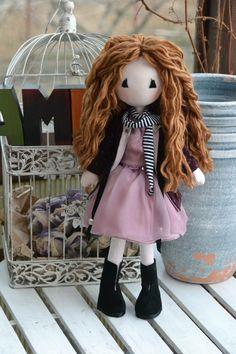 Lisa Dolls Harajuku, Lisa, Dolls, Handmade, Style, Fashion, Fabric Dolls, Baby Dolls, Swag