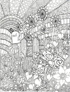 Free Adults Printable Of Summer Coloring Pages 17732