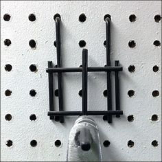 Wide and tall, this Heavy-Duty All-Wire Pegboard Backplate provides support for any merchandise assigned to its product Frontwire Close Up, Hooks, Sconces, Wall Lights, Wire, Home Decor, Chandeliers, Appliques, Decoration Home