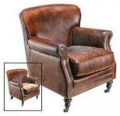 steve has been dying for some leather chairs like this