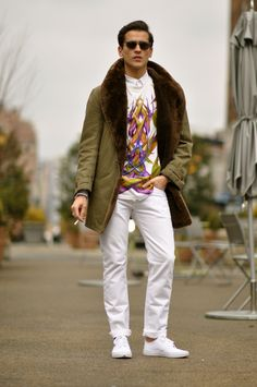Follow Sneak Outfitters for more cool street fashion snapshots from New York City. www.sneakoutfitters.com