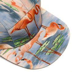 MOUPIA — MOUPIA Flamingos 5 Panel Hat