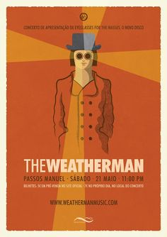"The Music Spot: The Weatherman: concerto de apresentação de ""Eyeglasses For The Masses"""