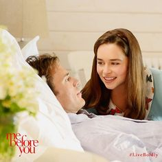 The story of two people who needed each other more than they knew. #MeBeforeYou  Sam Claflin Emilia Clarke Me Before You