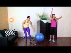 Week 12 Workout 2 IdealShape Up Challenge! 12 weeks of Free Fat-Burning Workouts! - YouTube
