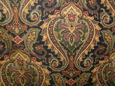 1000 Images About Paisley On Pinterest Paisley Fabric