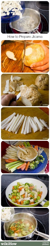 How to Prepare Jicama #food