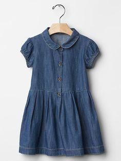 Chambray shirtdress Product Image