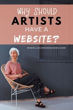Why should artists blog? | Le café de maman Creative Business, Business Tips, Online Business, Social Media Tips, Social Media Marketing, Make Money Blogging, Blogging Ideas, Sales Strategy, Pinterest For Business