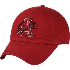 Arkansas Razorbacks Top of the World Vintage Crew Adjustable Hat - Cardinal University Of Arkansas, Arkansas Razorbacks, Top Of The World, Vintage Outfits, Baseball Hats, Sweatshirts, Fitness, Mens Tops, Clothes